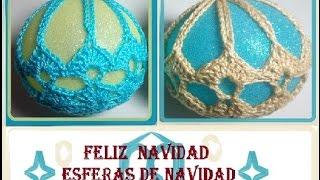 getlinkyoutube.com-Esfera de Navidad crochet
