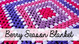 getlinkyoutube.com-How To Crochet the Berry Season Blanket, Episode 114