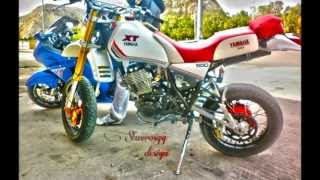 getlinkyoutube.com-Yamaha XT 550 Wheelie [720p HD]