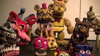 getlinkyoutube.com-Five Nights at Freddy's 4 Clay Figures
