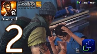 Modern Combat 5 Blackout Android Walkthrough - Part 2 - Chapter 2: Rinnoji Temple - Awakening