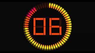 getlinkyoutube.com-Countdown Timer 60 sec ( v 278 ) Circle Timer with Sound Effects HD 4k