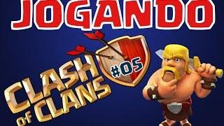 getlinkyoutube.com-Jogando Clash of Clans - #5 - Guerra CV9 e muito mais!!