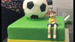 getlinkyoutube.com-Bolo em formato de Bola para a Copa do Mundo
