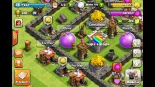 getlinkyoutube.com-[TUTO] Comment bien placer son village d'HDV de level 4