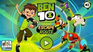 getlinkyoutube.com-Ben 10: Escape Route - Chapter 1: Barn Stormer (Cartoon Network Games)
