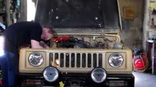 getlinkyoutube.com-Suzuki Samurai Engine swap Time Lapse