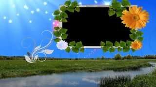 getlinkyoutube.com-HD Free Background Animated Photo Frame Video Downloads