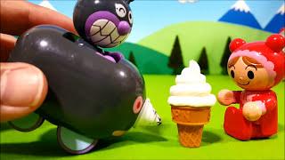 アンパンマンおもちゃアニメ❤赤ちゃんまんのアイスクリームの巻 Toy Kids トイキッズ animation anpanman