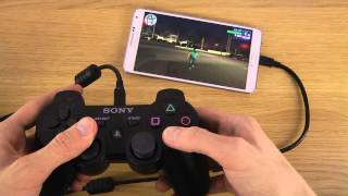 getlinkyoutube.com-How To Pair PlayStation 3 Controller To Samsung Galaxy Note 3