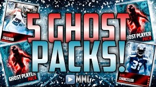 getlinkyoutube.com-5 Ghost of Madden Packs! 88-98 Overall! Madden Mobile Ultimate Freeze