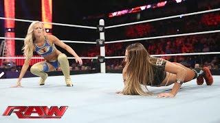 getlinkyoutube.com-Summer Rae vs. Nikki Bella: Raw, June 8, 2015