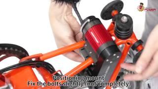 getlinkyoutube.com-HiddenPower Electric (E-Bike) Kit for Brompton