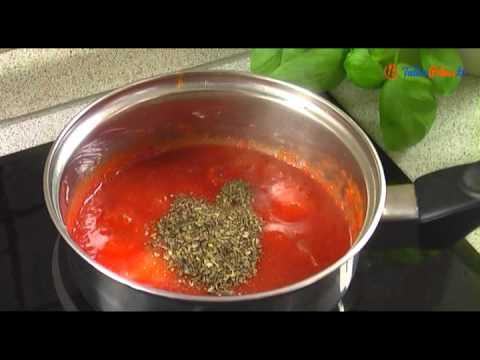 Sos pomidorowy łagodny do pizzy