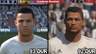getlinkyoutube.com-FIFA 16 vs. PES 16: Real Madrid