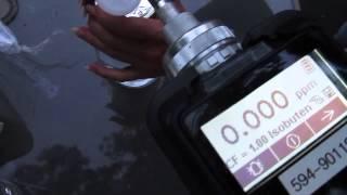 Manor, Georgia Water heated to 150° VOC testing