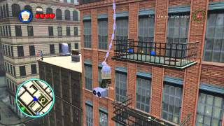 getlinkyoutube.com-LEGO Marvel Super Heroes The Video Game - Stan Lee free roam