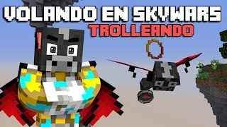 getlinkyoutube.com-VOLANDO EN SKYWARS 1.10 | CON ALAS ELYTRA