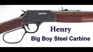 getlinkyoutube.com-Henry's New Big Boy Steel Carbine - .44 Magnum - Fun, Fast & Accurate