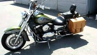 getlinkyoutube.com-KAWASAKI vulcan classic 1500 custom