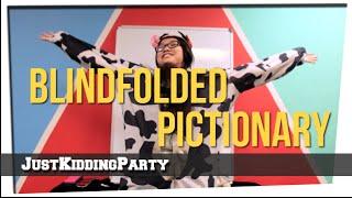 getlinkyoutube.com-Blindfolded Pictionary Costume Edition