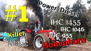Trecker Treck Party  Hohenhorn 2017  Teil 1 IHC 1455 Standard S 2:00