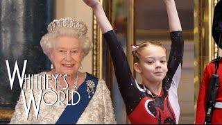 getlinkyoutube.com-Gymnastics at the Palace | Press Handstands with the Queen | Whitney