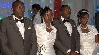 getlinkyoutube.com-RWANDA: TWIN BROTHERS MARRY TWIN SISTERS!