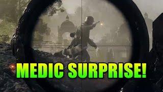 getlinkyoutube.com-Medic Surprise! | Battlefield 1 Gameplay