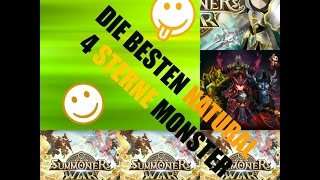 getlinkyoutube.com-Summoners War die BESTEN 16 Natural 4 Sterne Monster