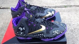 """Lebron 11 """"BHM"""" (Black History Month) Review/ On Feet"""