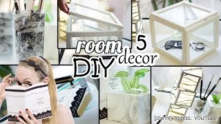 getlinkyoutube.com-5 DIY Room Decor and Desk Organization Ideas - Art Deco Style