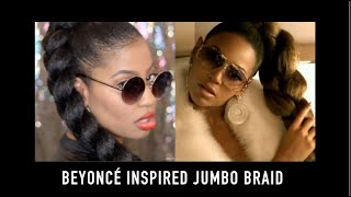 getlinkyoutube.com-Beyoncé Upgrade U | Inspired Jumbo Braid with Kanekalon Hair