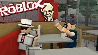 getlinkyoutube.com-Roblox KFC TYCOON!! DANTDM EATS KFC WITH BIGGRANNY000!!