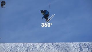 How To Freeski: 360° | Freeski Tricks presented by Protest