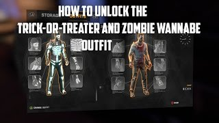 getlinkyoutube.com-How to get the New Trick-or-Treater and Zombie Wannabe Outfits in Dying Light - Patch 1.15