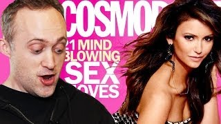 Guys React To Cosmo's Wildest Sex Tips