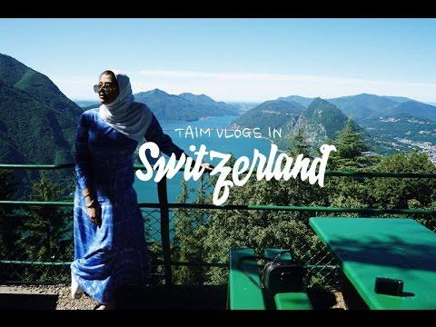 Switzerland Vlogs | كسرت رجلي للمرة الثانية والسيندرلا أمي في لوجانو ولوسيرن