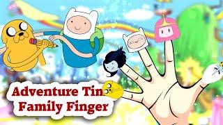 getlinkyoutube.com-adventure time Finger Family Nursery Rhymes for Kids