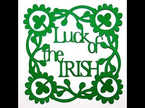 Luck of the Irish ll Kiss me I'm Irish + Pot O' Gold Tag