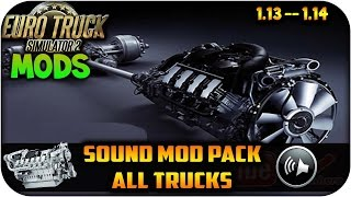 getlinkyoutube.com-Sound mod pack | Interior, Exterior, Naturaleza, Frenos de aire, turbina | Euro truck simulator 2 |