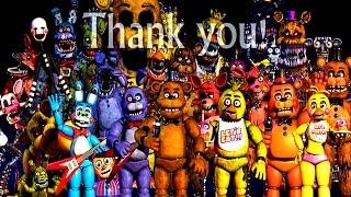 getlinkyoutube.com-Five Nights at Freddy's All Animatronics | 4, 3, 2 & 1 Jumpscares