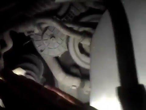 Ремонт обводного ролика Пежо 308 408