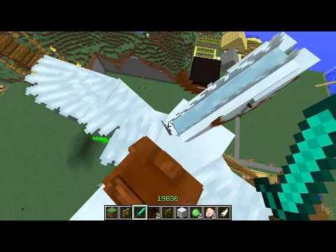 Como Descer do Cavalo no Minecraft 1.5.1/.1.5.2/1.6.2/1.7 - Mo' Creatures.