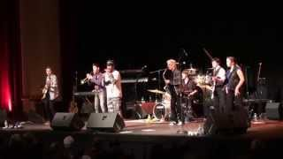 Lagond All-Stars open for Blood Sweat and Tears, Paramount Theatre, Peekskill, NY