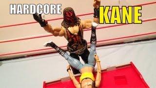 WWE ACTION INSIDER: Hardcore Kane Elite Flashback RSC exclusive Mattel figure wrestling figures