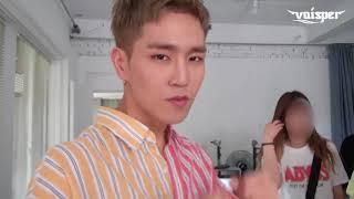 Voisper(보이스퍼) Crush On You MV Behind The Scenes ENG Sub