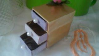 getlinkyoutube.com-caixa de fosforo artesanato