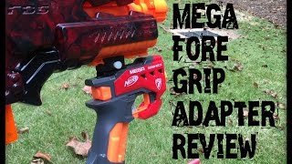 getlinkyoutube.com-Honest Review: Bigshock to Nerf Rail Adapter (I use it as a fore-grip)