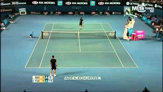 getlinkyoutube.com-Australian Open 2008 | Novak Djokovic Vs. Jo Wilfried Tsonga Highlights ᴴᴰ